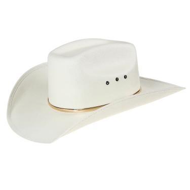 Chapéu Country Copa Quadrada Bandinha Dourada Texas Diamond 24809