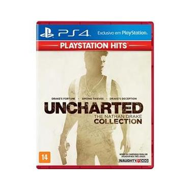 Jogo PS4 Uncharted Collection Hits
