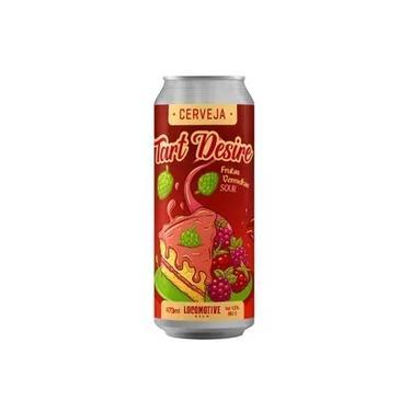 Cerveja Locomotive Tart Desire Frutas Vermelhas 473ml