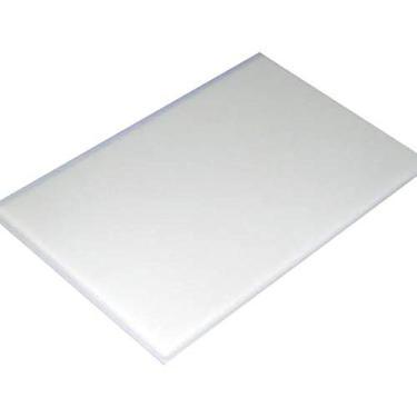 Tábua de corte Polietileno Branca 50x30x1,5cm - Kitplas (Cód. 1013)