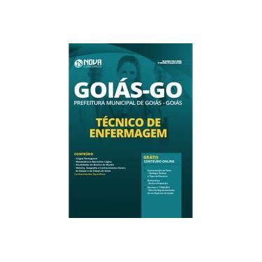 Imagem de Apostila Prefeitura de Goiás GO 2020 Técnico de Enfermagem