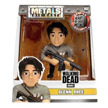 Figura Colecionavel 10 Cm Metals The Walking Dead Glenn Rhee Dtc