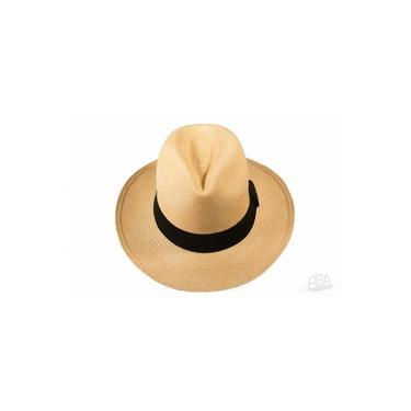 Chapéu Panamá Clássico Tabaco