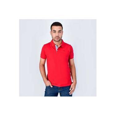 af02839cbc Camiseta Polo Ogochi Essencial Piquet Vermelho
