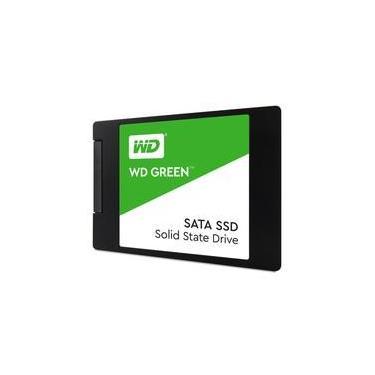 SSD WD Green, 240GB, SATA, Leitura 545MB/s, Gravação 465MB/s - WDS240G2G0A