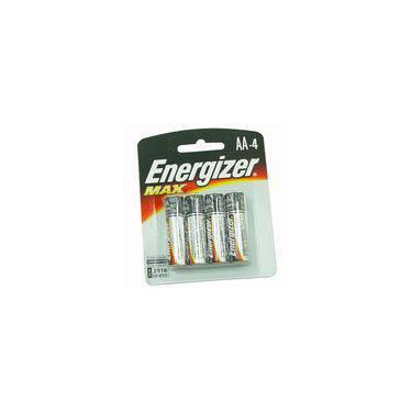 Pilhas Energizer Max AA4 Alcalínas