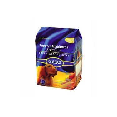 Tapete Higiênico Chalesco Premium Super Absorvente 90 x 60 cm para Cães (7 unidades)