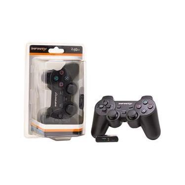 Controle Playstation 2 Sem Fio Infinity Melhor Do Mercado