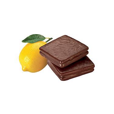 Biscoito Limão com Cobertura de Chocolate 420g Caixa com 12 Unidades - Havanna