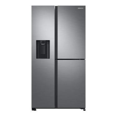 Imagem de Geladeira Inverter Frost Free Samsung Rs65r5691m9 Inox Look Com Freezer 602l 110v