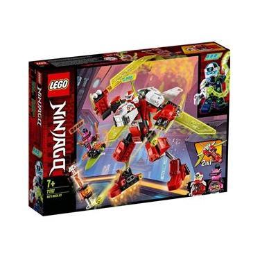 Lego Ninjago 2 Em 1 O Jato Robo Do Kai Com 217 Peças 71707