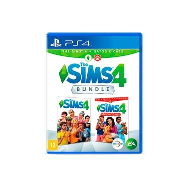 Jogo The Sims 4 + Gatos e Cães Bundle - PS4