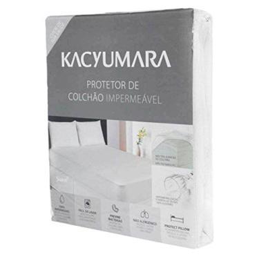 Imagem de Protetor de Colchão Algodão Impermeável Queen - Kacyumara