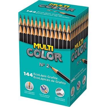 933375cc6 Lapis Preto Redondo Multicolor Super Eco N.2 - Caixa com 14 Faber Castell,