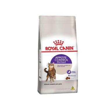 Ração Royal Canin Sterilised Appetite Control para gatos castrados adultos com apetite insaciável