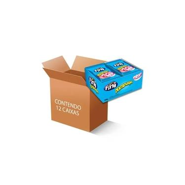 Bala Fini Dentadura contendo 12 caixas