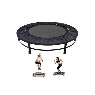 Trampolim Jump Aro Reforço com Capa 32 Molas Profissional Cama Elástica Exercícios Academia Suporta Até 150kg