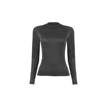 Blusa Segunda Pele Curtlo T-Shirt ThermoSkin ML Feminina 852b5767e2a9d