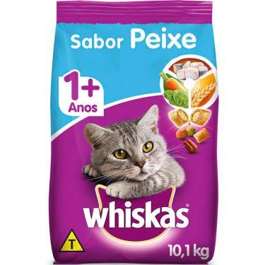 Ração Whiskas Peixe para Gatos Adultos - 10,1 Kg