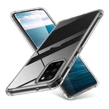 Capa Anti Shock Samsung Galaxy A51 Transparente Bordas Reforçadas