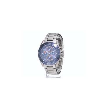 b996e9d0db5cb Relógio Masculino Michael Kors Jetmaster Chronograph Stainless Steel Blue  Dial - Modelo Mkors-Mk8484