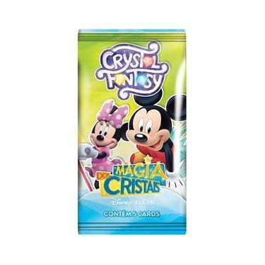 Imagem de Jogo De Cartas Cristal Fantasy Magia Disney Copag