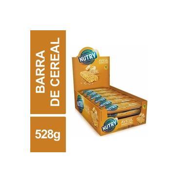 Barra Cereal Aveia Banana Mel C/ 24un 22g Nutry 528g Caixa
