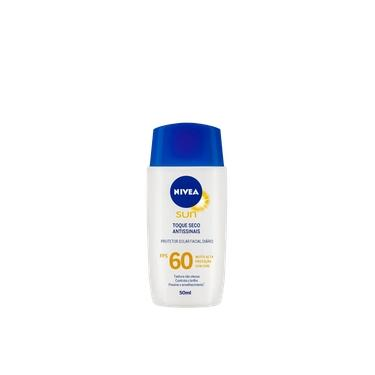 Protetor Solar Facial NIVEA SUN Toque Seco Antissinais FPS60 50ml