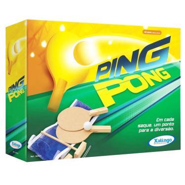 Kit Ping Pong 6 Peças Xalingo 1021181