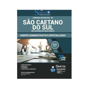 Imagem de Apostila Câmara De São Caetano Do Sul - São Paulo