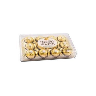 Bombom Ferrero Rocher, 12 Unidades, 150g
