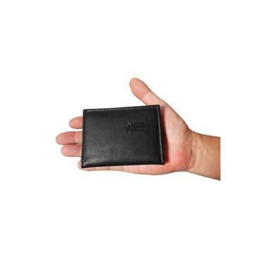 Mini Carteira TN 04 - Carteira Pequena de Bolso em Couro (426TN04) Slim - Porta CNH, Cartões, Cédulas