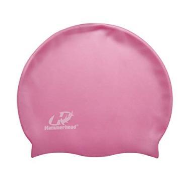 Touca De Silicone Lisa Hammerhead Unissex Pink Único