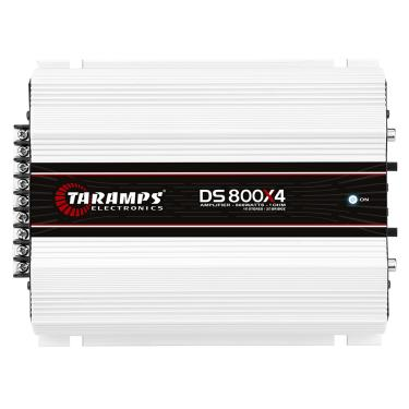 Módulo Taramps Ds 800x4 800w Amplificador Automotivo Módulo Taramps Ds 800x4 1 Ohm 800w Amplificador Automotivo
