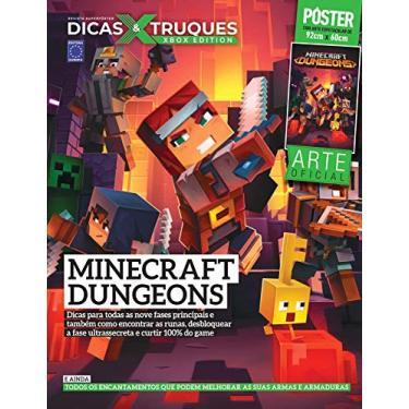 Revista Superpôster Dicas e Truques Xbox Edition Edição 4 - Minecraft Dungeos