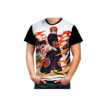 Camiseta Camisa Pain Nagato Akatsuki Shinobi Sasuke Naruto 4