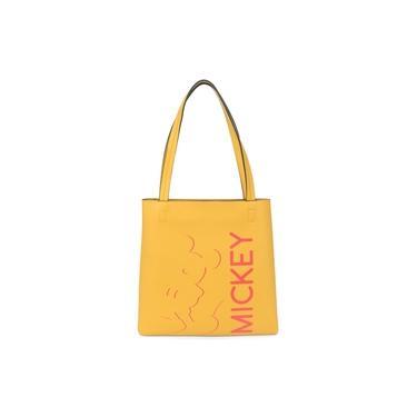 Bolsa Sacola Feminina Mickey Mouse Mostarda Amarelo Original