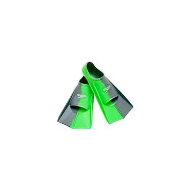 Nadadeira Speedo Training Fin Dual Verde Claro