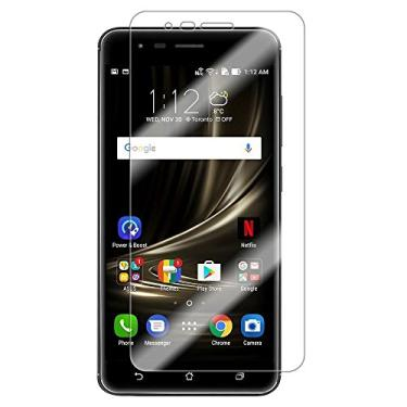 [2 unidades] Protetor de tela para Asus Zenfone Zoom S, protetor de tela de vidro temperado para Asus Zenfone Zoom S, protetor de tela transparente HD para Asus Zenfone Zoom S de 5,5 polegadas