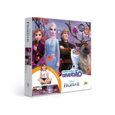 Imagem de Quebra-Cabeça Puzzle 120 Peças Grandão - Frozen II - Toyster