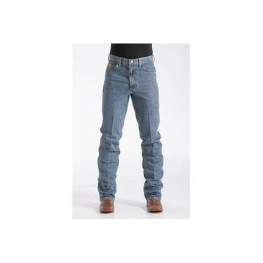 Calça Jeans Masculina Bronze Medium Stone Cinch