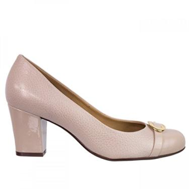 Sapato Feminino Luz da Lua Marrocos Luccido Couro S44015