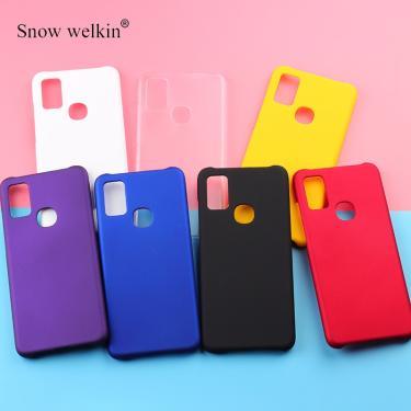 Capa de celular emborrachada, multicolorida de luxo, fosca, resistente, plástica, para samsung