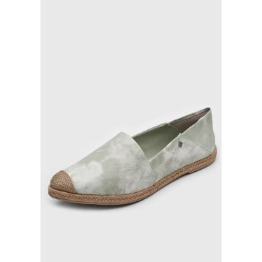 Alpargata Capodarte Tie Dye Branco/Verde Capodarte 4015598 feminino