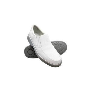 Imagem de Sapato Masculino Conforto Branco