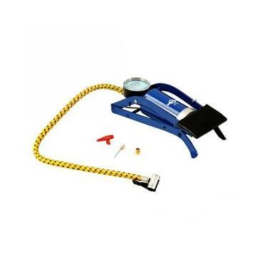 Bomba Para Encher Pneus Com Pedal 8406 Brasfort