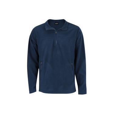 9363d61525 Blusa de Frio Fleece Nord Outdoor Basic - Masculina - AZUL ESC VERDE CLA  Nord