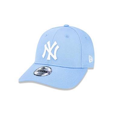 BONE 940 NEW YORK YANKEES MLB ABA CURVA AZUL CLARO NEW ERA 1ddac304568
