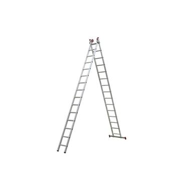 Imagem de Escada Extensiva de Alumínio 15 x 2 Degraus 4,36 x 7,80 Metros ESC0624 BOTAFOGO