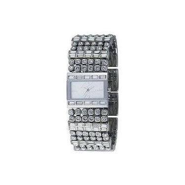 f9e6cc1ba41 Relógio Dkny - Gny3968n - Analógico - Cristais Swarovski - Caixa E Pulseira  Em Aço -